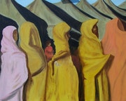 Femmes en Liberté. Peinture Insolite /Dany Champême