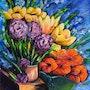 Composición de las flores. Marc Lejeune