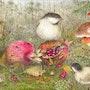 Mushrooms. Douceur Pastelle