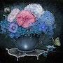 Le bouquet bleu. Douceur Pastelle