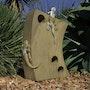 Gecko Sculpture. Robert Johnson