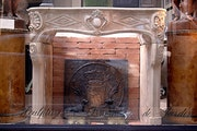Louis XV period fireplace. Galerie Origines