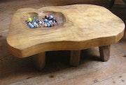 Tisch «das Spiel der Kugeln». Xavier Malbreil