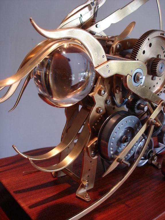 Automate n° 16 «Uranie de K-ristal» (détail). Frédéric Letrun Frédéric Letrun