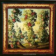 Verdure in exotischen Geschmack Pillement. Galerie Deroyan