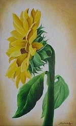 Triptych «The Sunflowers».