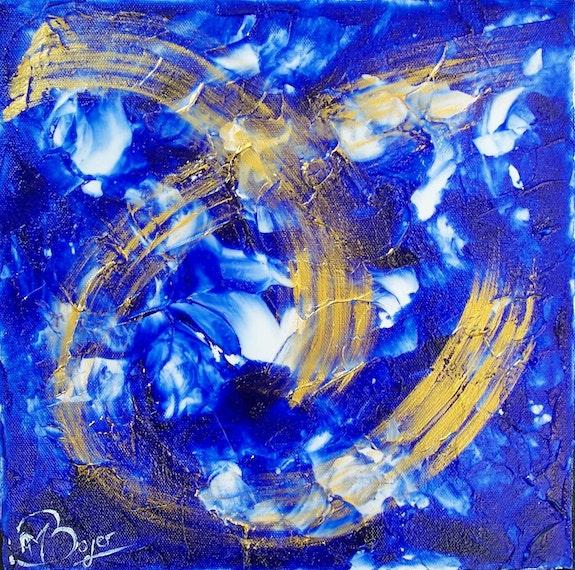 Astre. Anne-Marie Boyer Anne-Marie Boyer - Artiste Peintre Professionnelle