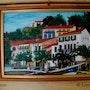 Collioure, View of hotel Boramar. Lisette