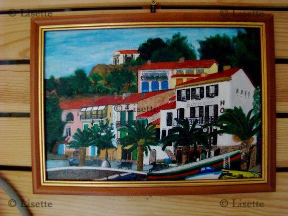 Collioure, Hotel mit Blick auf Boramar. Lisette Swinnen Lisette