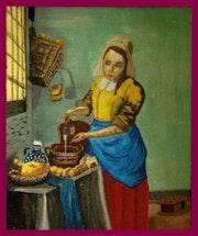 My milkmaid.