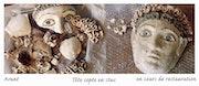 Kopf Kopten, Ägypten, in der Gastronomie. Catherine Burgues