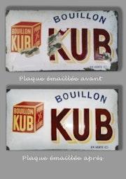 Email Schild «Bouillon Kub».