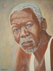 Portrait of a man of senegal.