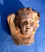 Angel XVIII th c. 3 / 4. Sculpteur, Mouleur, Bronzier Ciseleur