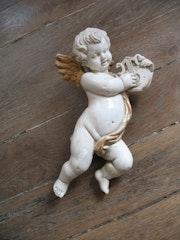 Angel Musician Xviii. Sculpteur, Mouleur, Bronzier Ciseleur