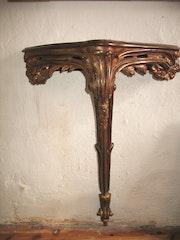 Reproduction D'Une Console Louis XV. Sculpteur, Mouleur, Bronzier Ciseleur