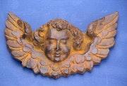 Reproduction of a xvithc angel. Sculpteur, Mouleur, Bronzier Ciseleur