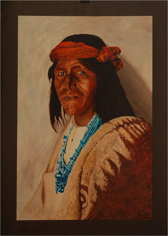 Tax Jemez - Indian in charge of Christian activities. Frank Chevallier Chevallier Frank