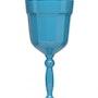 Florentine Turquoise Glas Rotwein.. Watts London