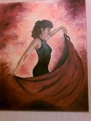 Flamenco-Tänzerin.