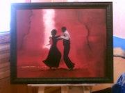 Tango-Tänzer.