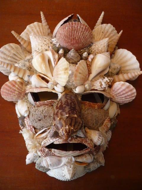 Mask Arcimboldo - Shells. Piero Lorenzini Piero Lorenzini