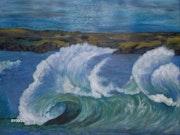 La ola.