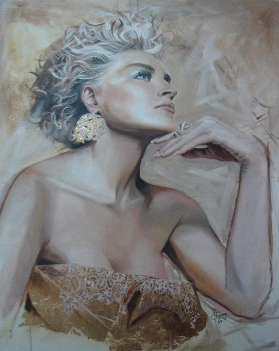 Portrait Of Sharon Stone. Roberto Robles Roberto Robles
