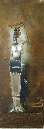 La jeune femme à la calebasse. Bolonga