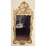 Spiegel aus vergoldetem Holz. Through the looking glass