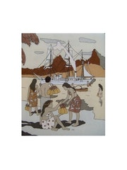 El mercado de la piña. Regine Royes