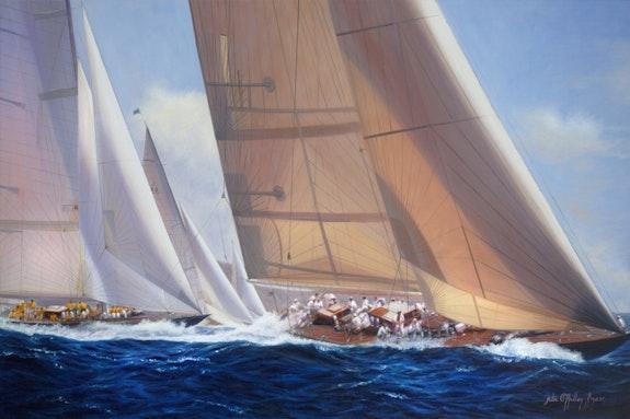Le grand j. Julia o'malley-Keyes O'malley-Keyes Fine Art