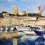 El viejo puerto de cannes. Marc Lejeune