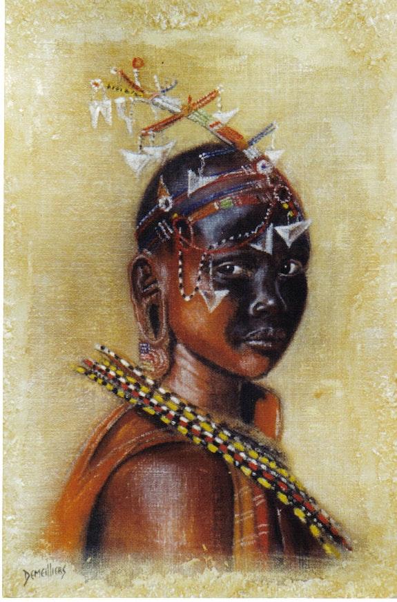 Masaï. Demeilliers Elodie Auber