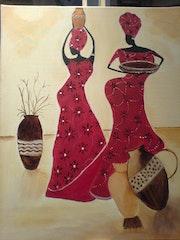 Les danseuses. Nathalie Loua