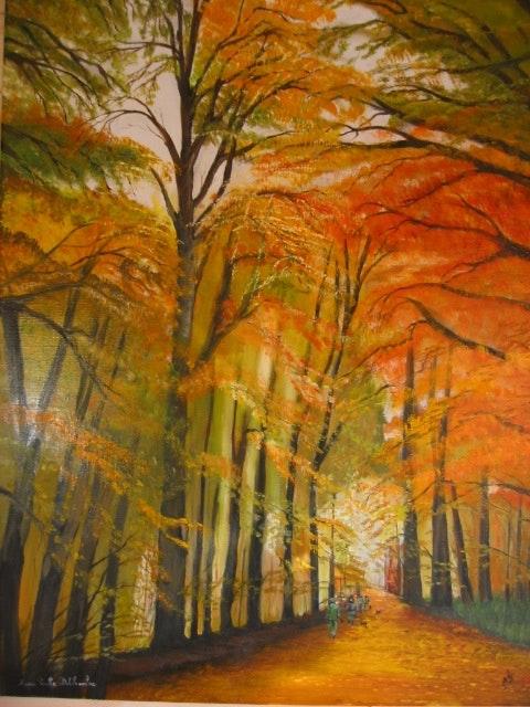 L'automne. Marie Paule Delchambre Marie Paule Delchambre