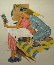 Dreamboats - Original-Lithographie vom Künstler signiert. Galerie Anagama