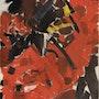 Abstracción rojo. Pfdj Sarl