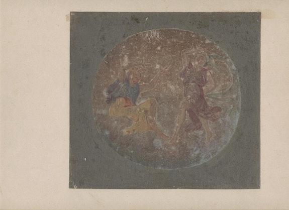 Deux Nymphes. D'après Une Fresque De Francesco Albani Dit l'albane / Andrea Sacchi? Michèle Delbey