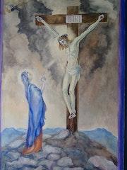 Christus am Kreuz.
