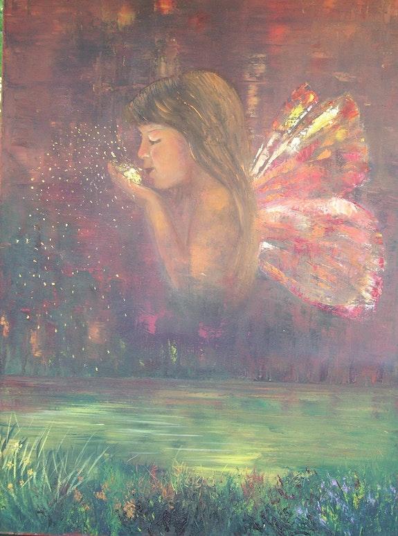 Papillon.  Marie-José Vivensang
