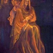 Madonna und Kind.. Pamela Claire Phillips