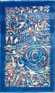 Creador de alfombras artista y pintor. Ziyadali Heydari