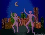 The Dance 2 - limitierte Original Grafik - Mario Strack. Universal Arts Galerie Studio Gmbh