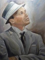 Retrato de Sinatra.