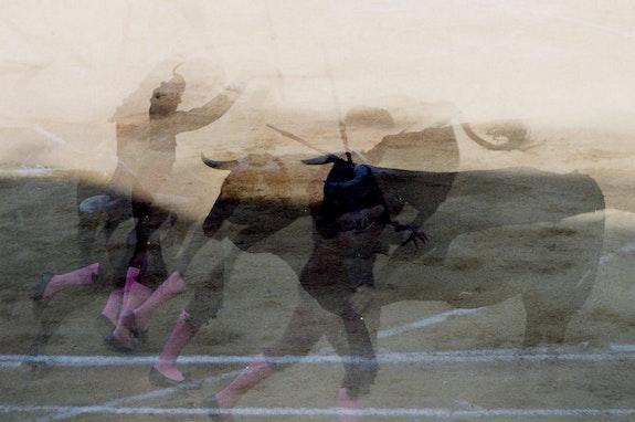 El Plural - corrida 02. Elie 1994 Bayonne Elie