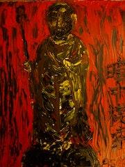 Anchiyu-Mosaku (Gefummel im Dunkeln). Toshio Asaki