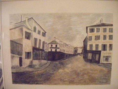 Rue Norvins - Montmartre - d'arès utrillo. Salsera Salsera