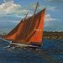 Pirate navigating the Gulf of Morbihan. Fransua