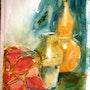 Florero y guajes. Ramon Larrauri